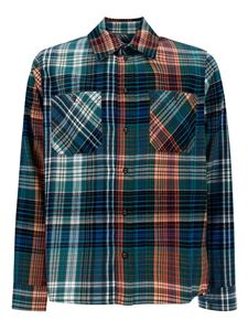 Moschino - Camicia in cotone madras multicolor