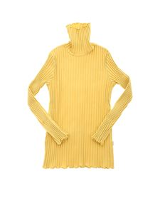 Il Gufo - Ribbed turtleneck in mustard color