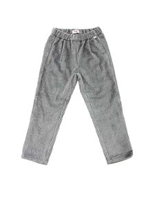 Il Gufo - Corduroy pants in silver