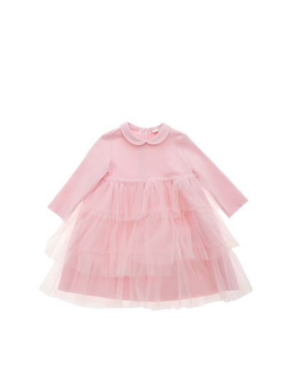 Il Gufo - Tulle dress in pink