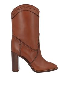 Saint Laurent - Kate boots in brown