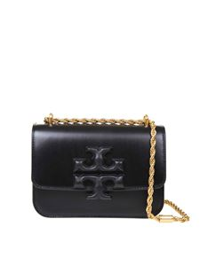 Tory Burch - Eleanor shoulder bag in black calfskin