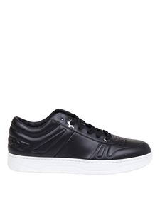 Jimmy Choo - Hawaii / m sneakers in black calfskin