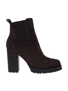 Hogan - Chelsea H542 ankle boots in brown