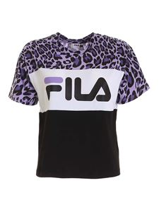 Fila - Allison t-shirt in purple and black