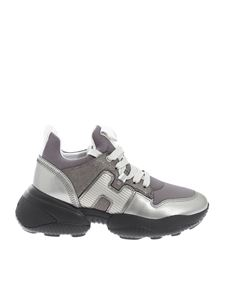 Hogan - Interaction sneakers in violet and silver