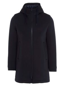 Herno - Hooded coat in blue