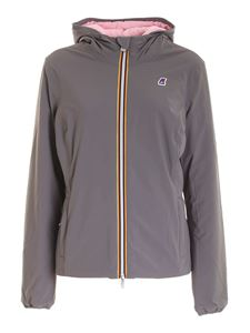K-way - Lily Warm Double puffer jacket in grey