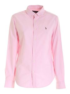 POLO Ralph Lauren - Logo button down shirt in pink