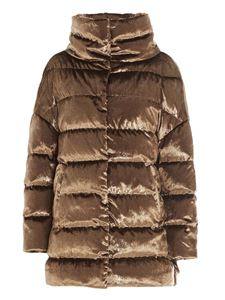 Herno - Crystal down jacket in gold color