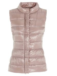 Herno - Giulia down vest in pink