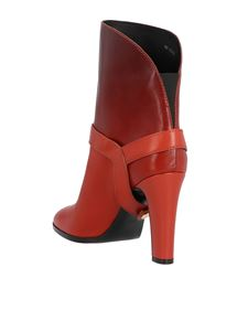 Givenchy - Eden Degrade ankle boots in red
