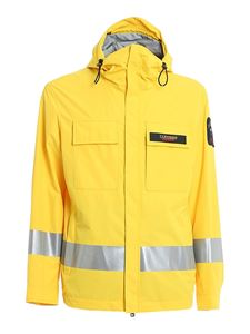 Paul & Shark - Side reflective bands jacket in yellow