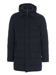 Herno - Ontario down jacket in blue