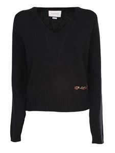 Gucci - Cashmere sweater in black