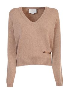 Gucci - Cashmere sweater in camel color