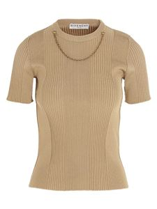 Givenchy - Short sleeves pullover in beige