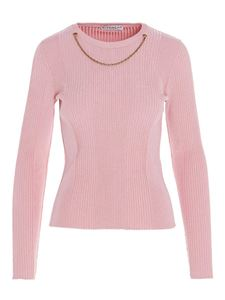 Givenchy - Chain detail sweater in pink