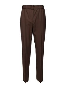 Agnona - Matching belt pants in brown