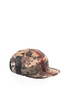 Burberry - Camouflage check hat in beige