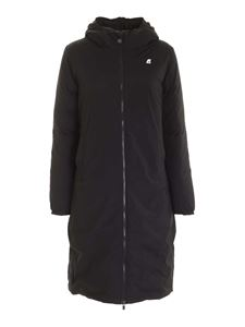 K-way - Suzanne Thermo Stretch coat in black