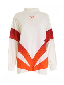 Y-3 - CH2 long-sleeves T-shirt in cream color