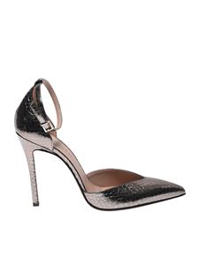 Sergio Levantesi - Lany pumps in steel color