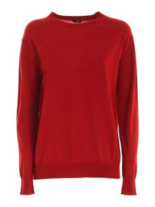 Aspesi - Wool pullover in red