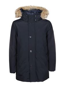 Woolrich - South Bay padded parka in blue