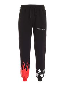 Vision Of Super - Joggers with print in black