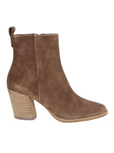 Tory Burch - Suede booties in camel color