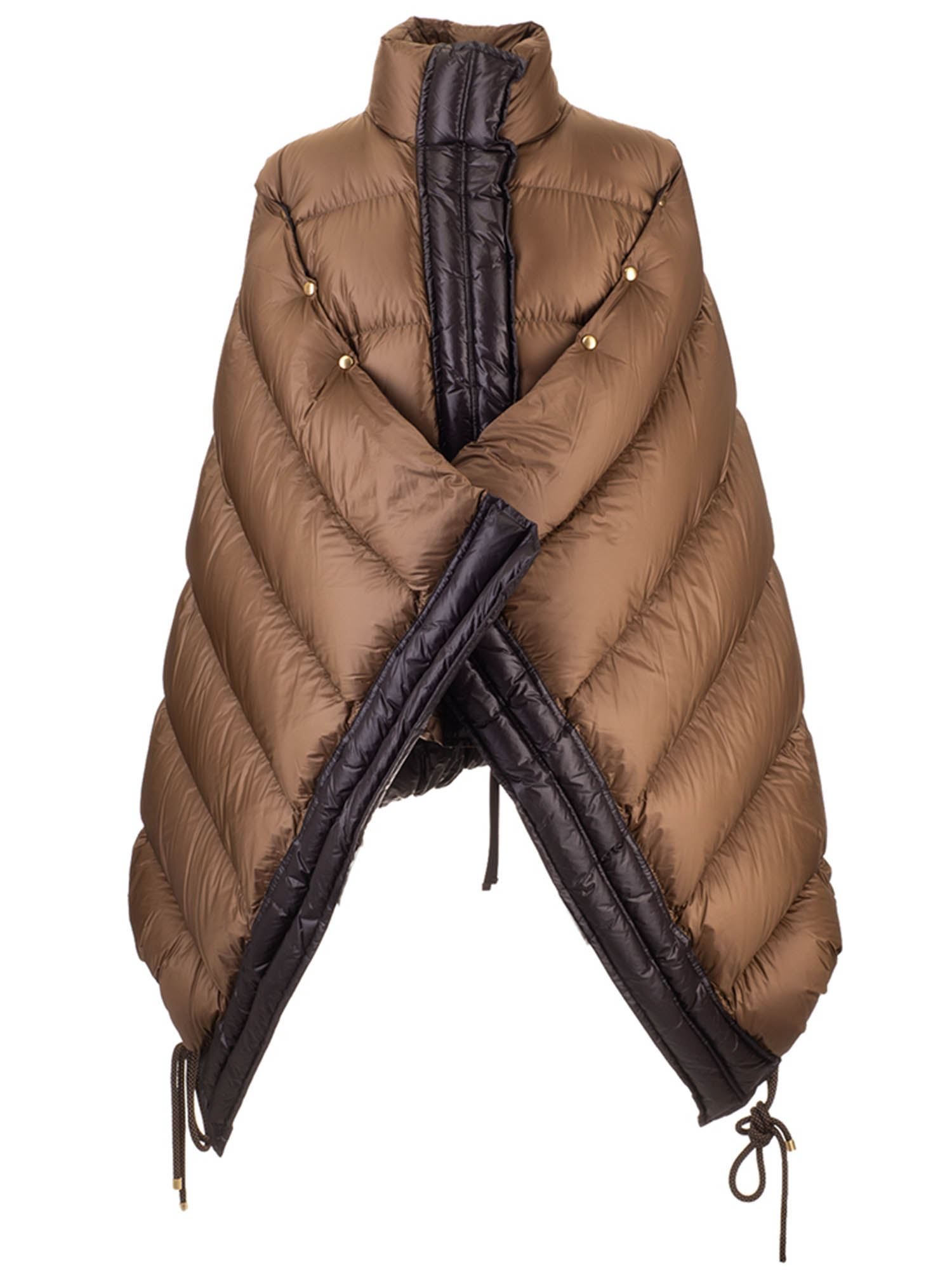Moncler Grenoble ELINA 1952 DOWN JACKET IN BROWN