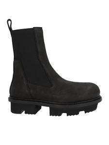 Rick Owens - Bozo Megatooth chelsea in black