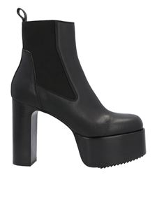 Rick Owens - Kiss 65 ankle boots in black