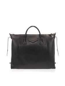 Givenchy - Soft Antigona large bag in black