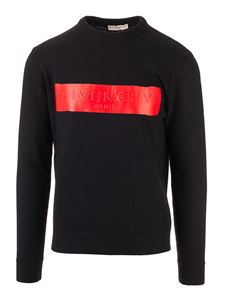 Givenchy - Logo print pullover in black
