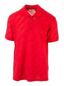 Givenchy - Branded polo shirt in red