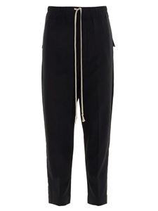 Rick Owens - Drawstring Cropped Astaires pants in black