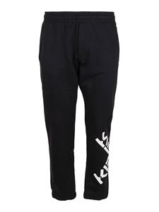 Kenzo - Sport Big X tracksuit bottoms in black