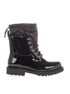 Moncler - Rain ankle boots in black