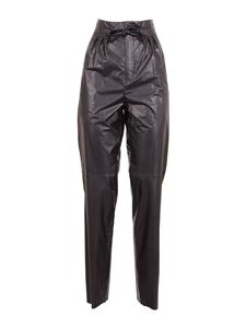 Isabel Marant - Duard faux leather trousers in black