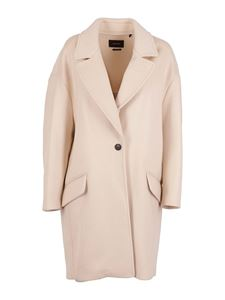 Isabel Marant - Ego wool and cashmere coat in beige