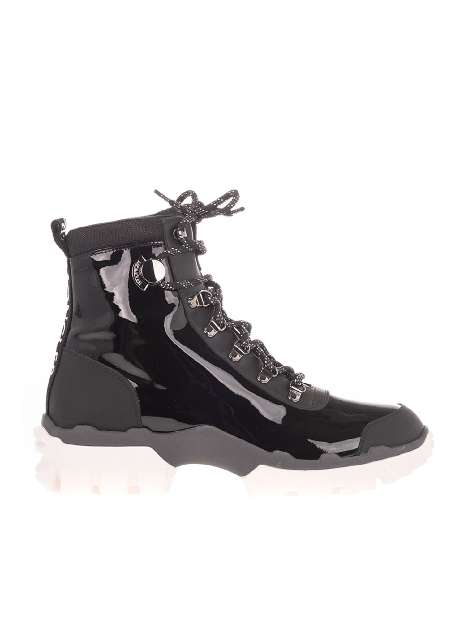 Moncler HELIS ANKLE BOOTS IN BLACK