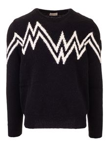 Moncler - Inlay sweater in black