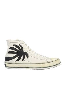 Palm Angels - Sneakers Vulc Palm bianche