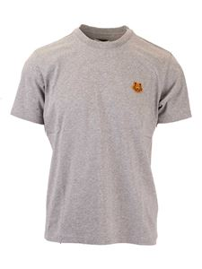 Kenzo - Tiger patch T-shirt in grey
