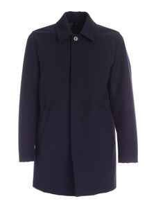 Fay - Single-breasted coat in blue