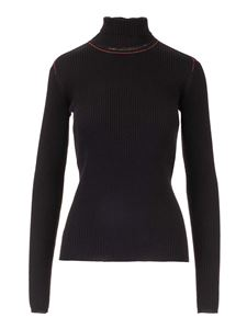 Chloé - Thin knitted pullover in black