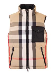 Burberry - Reversible Re: Down® padded vest in beige