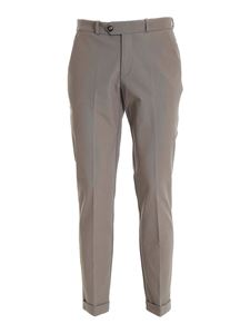 RRD Roberto Ricci Designs - Stretch chino pants in dove grey